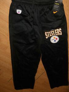 New Nike Pittsburgh Steelers NFL Football Therma Pants Size M (B80)