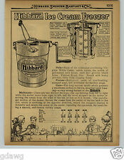 1929 PAPER AD 10 PG White Mountain Hibbard Ice Cream Maker Freezer Parts Repair