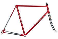 Vintage De Bernardi Road Bike Frame Set 56cm LARGE Lugged Steel