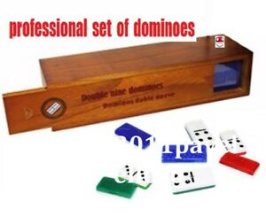 Cuban Domino Game Profesional Doble Nine, Domino Doble Nueve Cubano red/blue/gre