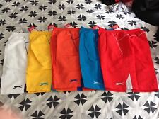 5 x PAIRS OF MENS SLAZENGER SHORTS SIZE MEDIUM - NEW WITH TAGS !