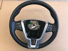 11-13 Volvo S60 Gray Leather Steering wheel 31250591