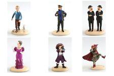 Statuette résine Tintin Assortiment de 6 figurines