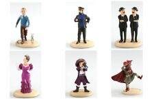 Statuette résine Tintin Assortiment de 6 figurines Carrefour Market