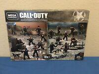 MEGA BLOKS / CONSTRUX CALL OF DUTY RARE WW2 battle pack