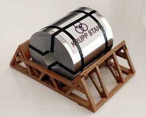 HO Scale Loads - 11318/L - Aluminium Coil in Transport Cradle - KRUPP STAHL