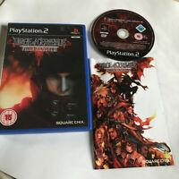 Dirge Of Cerberus: Final Fantasy VII 7 / Boxed & Manual Playstation 2 PS2 PAL #2