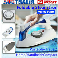 Foldable Travel Electric Steam Iron Handheld Compact Clothes Steamer Garment AU