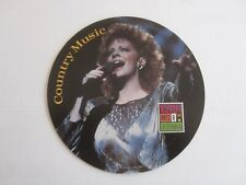 Country and Western Music, Young Country Begins  Collectible Cardboard Disc