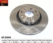 Disc Brake Rotor-Standard Brake Rotor Front Best Brake GP55099