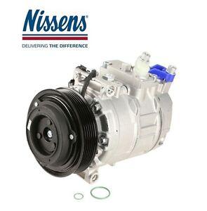For Saab 9-5 03-09 A/C Air Condition Compressor w/ Clutch Nissens 12 758 380
