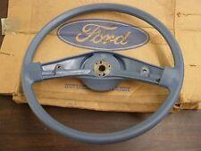 NOS OEM 1984 Ford Ranger Truck Pickup Steering Wheel Blue 2 Spoke 1985 1986 1983