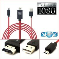 2M Micro USB To HDMI MHL 1080P Cable Adapter For Samsung Galaxy S5/S4 Note 3