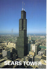 postcard USA  Illinois Sears Tower   unposted