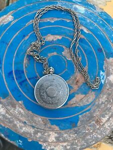 Silver Jubilee Coin Necklace