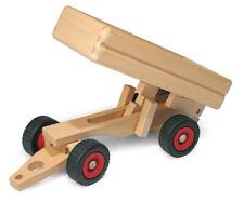 Lkw-anhänger Holzspielzeug V. Fagus Wooden Toy Trailer (17508)
