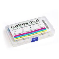 180er Set Lötverbinder kobos-led®,Schrumpfverbinder,Stoßverbinder,Kabelverbinder