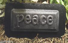 Peace tile plaque mold plaster concrete plastic mould
