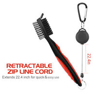 Golf Brush Groove Cleaner Accessories Set For Groove Shoes Cleaning Lightweight