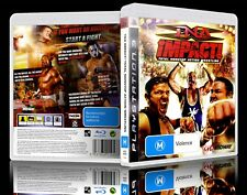 (PS3) TNA Impact! Total Nonstop Action Wrestling (M) Guaranteed, Tested