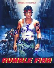 MATT DILLON signed autographed RUMBLE FISH RUSTY JAMES photo
