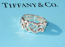 Tiffany & Co. Sterling Silver Paloma Picasso Size 7 1/2 Loving Heart Ring