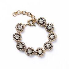 Flower Statement Bracelet Nwot Vintage gold floral