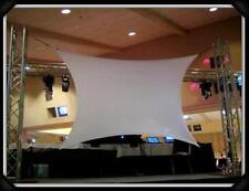 STRETCH SCREEN, BACKDROP, 6'X4' (corner to corner), FRONT/REAR PROJECTION