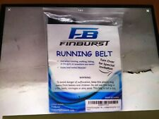 FinBurst Running Belt, For Any iPhone-cell Phone Valuable When Working Out, Blk