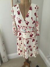 Ba&sh Red Poppy Dress Size 3 12/14 Bnwot