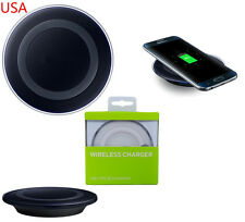 FOR SAMSUNG QI WIRELESS CHARGER CHARGING PAD PLATE BNIB S6 S7 S8 EDGE NOTE 5 7
