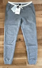 Women's Moncler Sweat Pants Size M Grey Marl In Colour RRP £205 Made In Italy