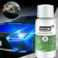 Car Bright Headlight Headlamp Cleaning Restoration Polish Restorer Kit 20ML HOT