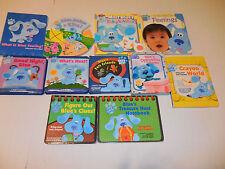 Lot of 11 Blues Clues Board Books Bring Your Own Crayon Feelings Steve & Friends