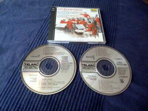 2xCD Erich Kunzel Cincinnati Pops Orchestra EIN STRAUSSFEST 1&2 TELARC 1994
