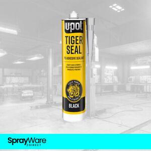 OFFER U-POL Tiger Seal PU Adhesive Sealant BLACK Seam Trim 310ml TIG/NB