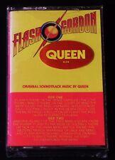 Queen-Flash Gordon -ORIGINAL 1980 US NON-CLUB Cassette - SEALED w/Cool Sticker!