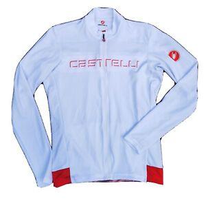 CASTELLI Prologo Long-sleeved Jersey, White - MEDIUM