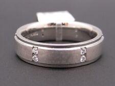 Scott Kay Mens Palladium .24ct Diamond Wedding Band Ring 6mm Size 10.5 C0670
