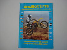 advertising Pubblicità 1979 MOTO ANCILLOTTI 125 CROSS