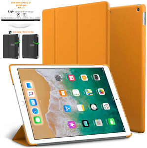 """Leather Smart Flip Case Cover Stand For Apple iPad 9.7"""" In 6TH/5TH Gen 2018/2017"""