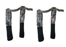 2 Camo Carp Rod Tip And Butt Protectors Deluxe Cover for Carp Rods Fishing