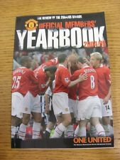 2004/2005 Manchester United: Official Members Yearbook. Thanks for viewing our i