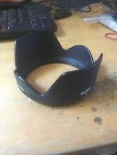 Sigma 18 -200 Lens Hood