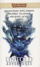 Dragones y mazmorras-Untold Adventures-Foster, anderson, Shirley, Smedman, Resnick