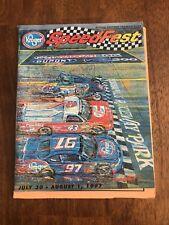 1997 NASCAR Kroger Speedfest IRP Official Souvenir Program