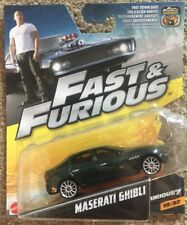 The Fast And The Furious Maserati Ghibli 19 of 32 Brand New And Sealed