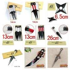 Naruto Kunai Ninja Weapon Minato Hiraishin Itachi Red Kunai Ninja Star Cosplay
