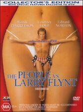 The PEOPLE vs LARRY FLYNT (Woody HARRELSON Courtney LOVE) True Story DVD Reg 4
