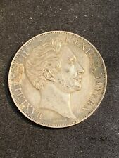 1855 Germany 2 Gulden
